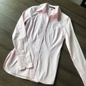 LIGHT PINK BUTTON UP